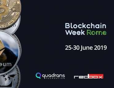 earthbi blockchain week rome