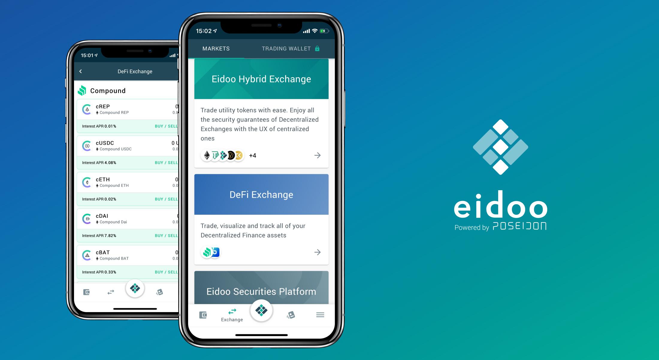 L'exchange DeFi di Eidoo: il tuo gateway verso la DeFi