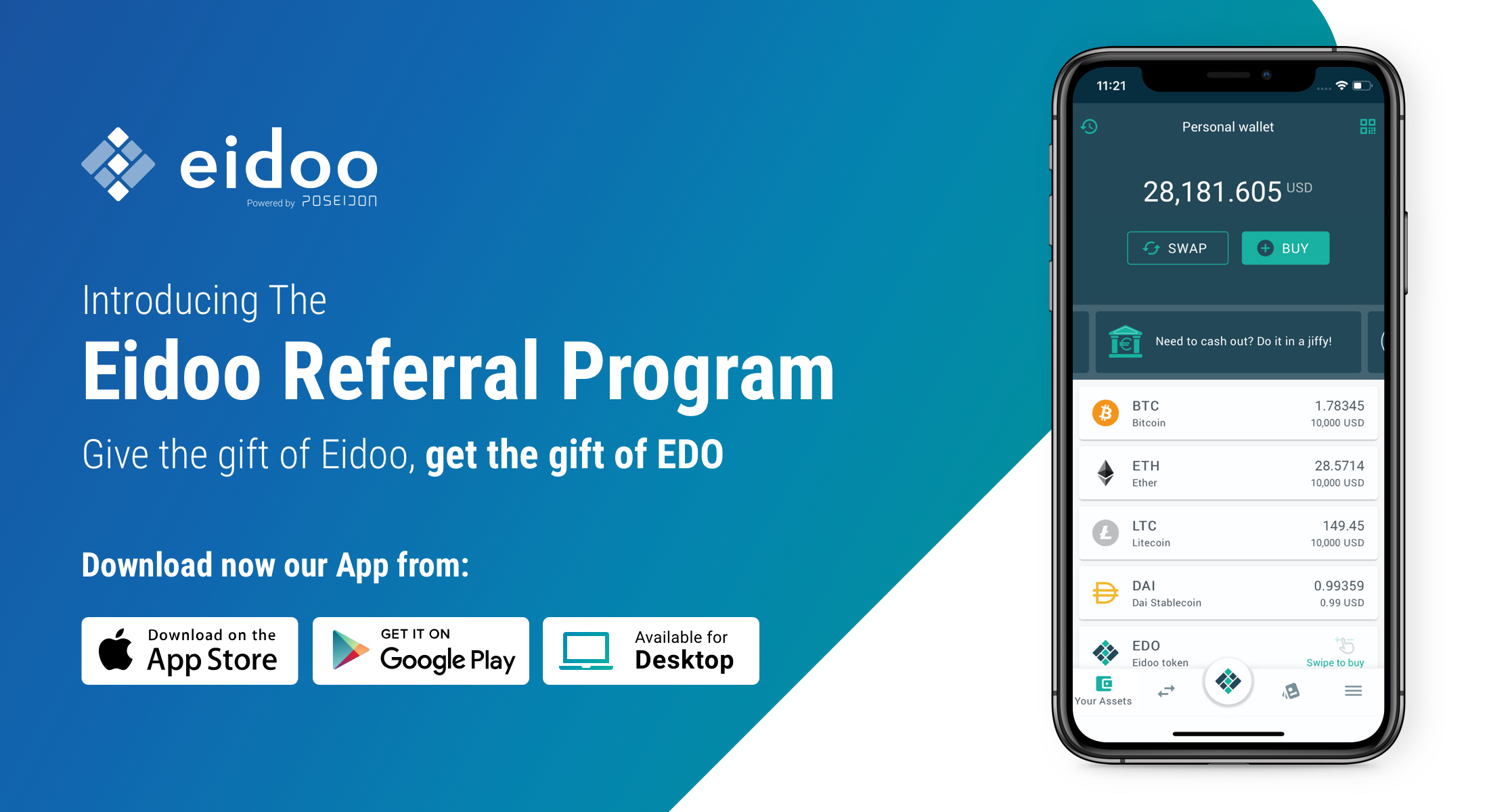 Eidoo Referral Program