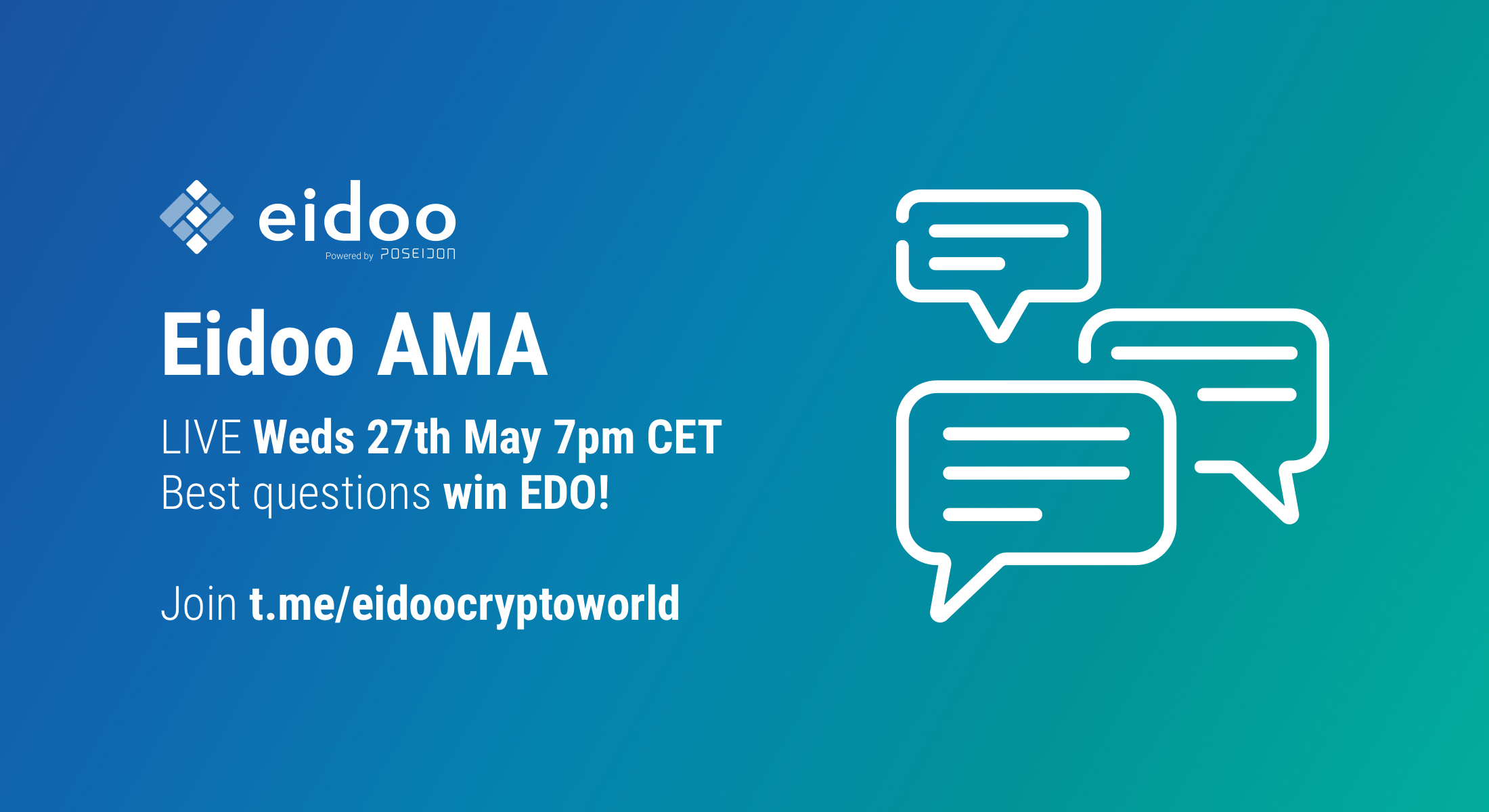 Join the Eidoo AMA!