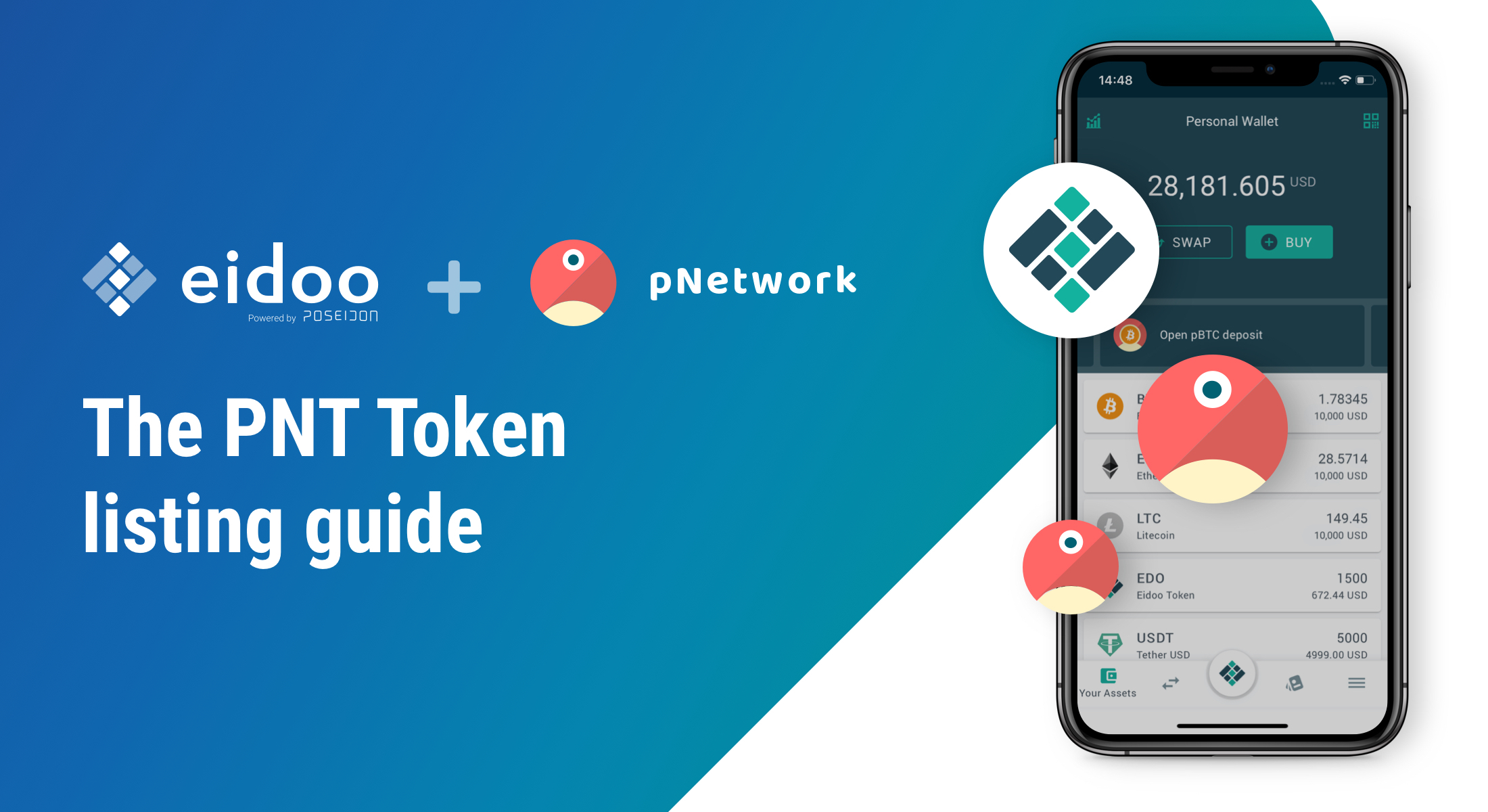 PNT listings have landed as top exchanges announce support