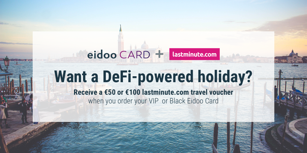 Take a DeFi-powered holiday with Eidoo and lastminute.com