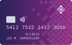Eidoo Card Purple