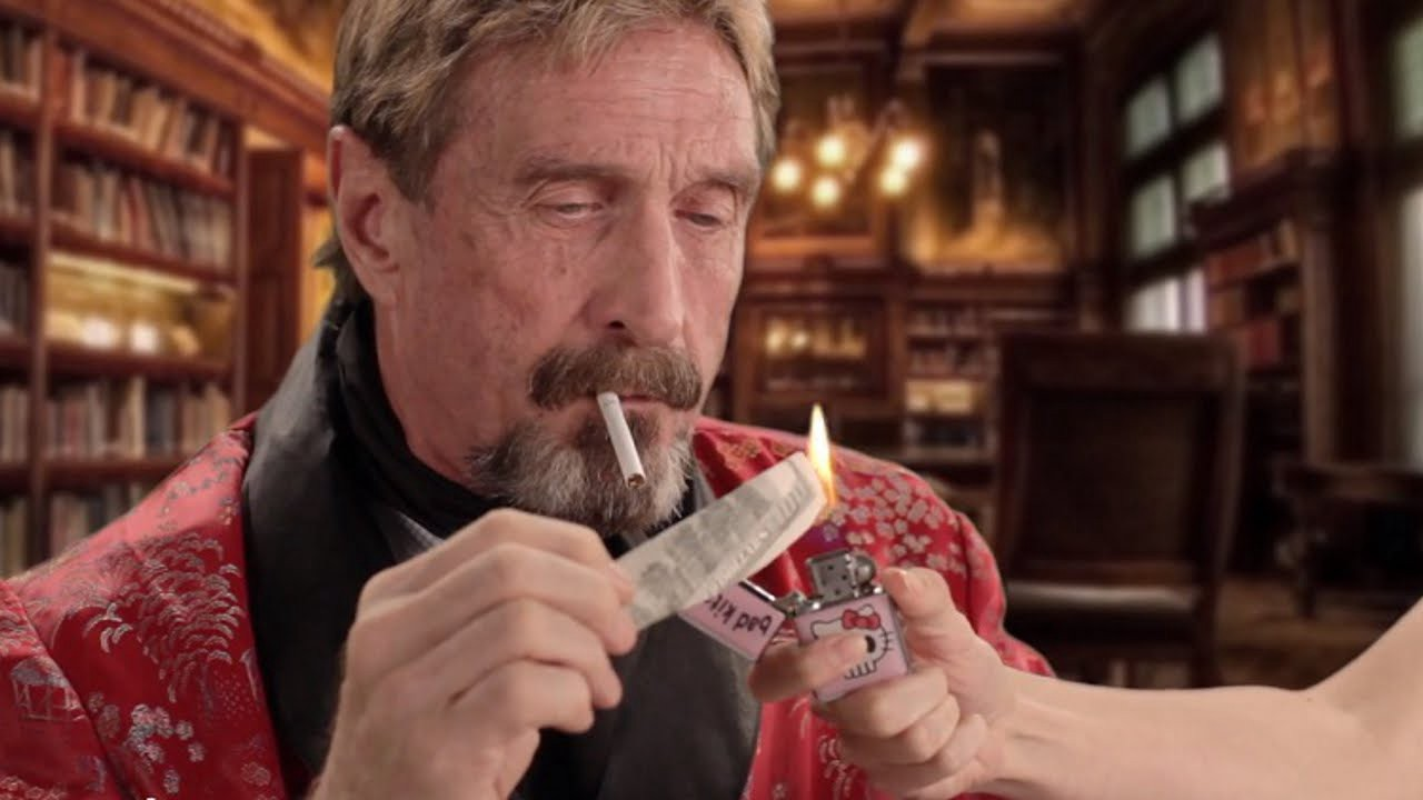 John McAfee coin, the launch of MRU