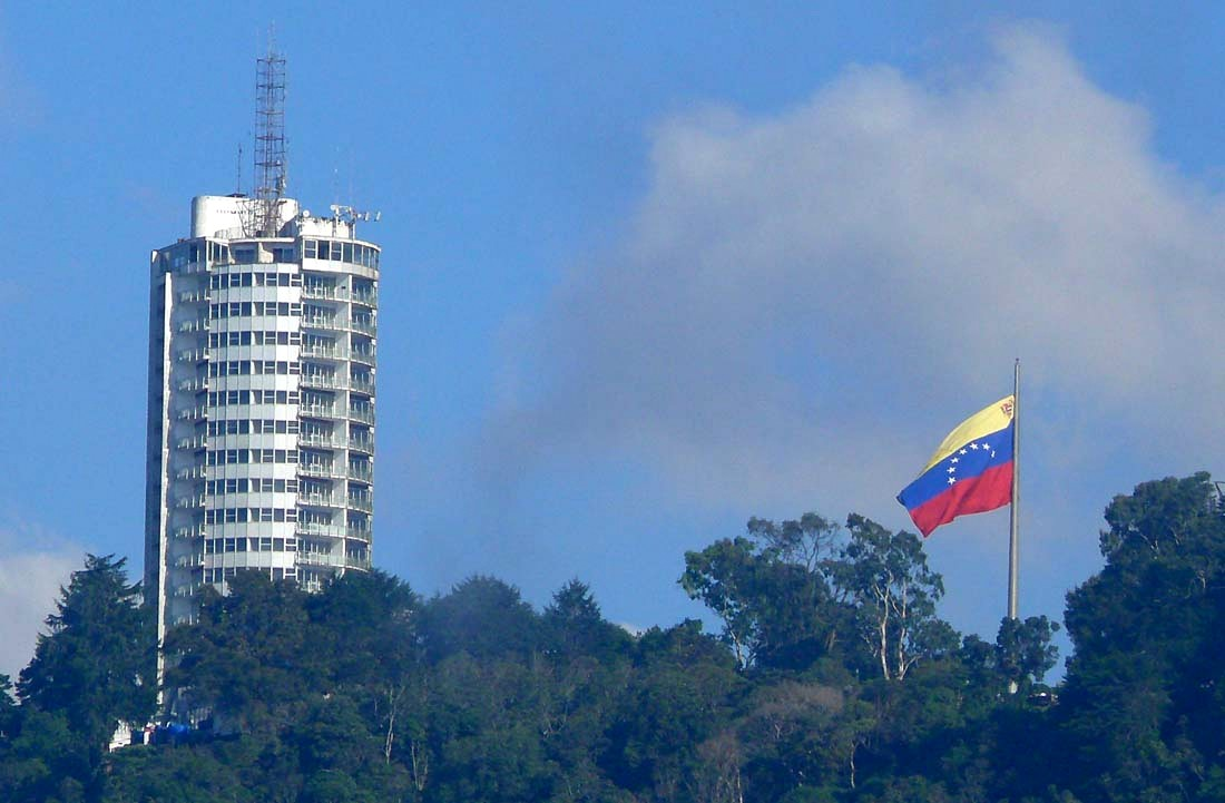 A luxury hotel in Caracas accepts Petro