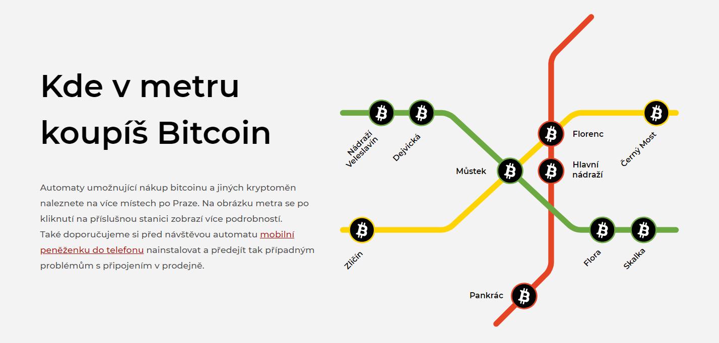 Prague adds underground Bitcoin ATMs