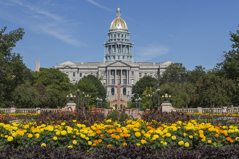 In Colorado crypto donations are received by politicians