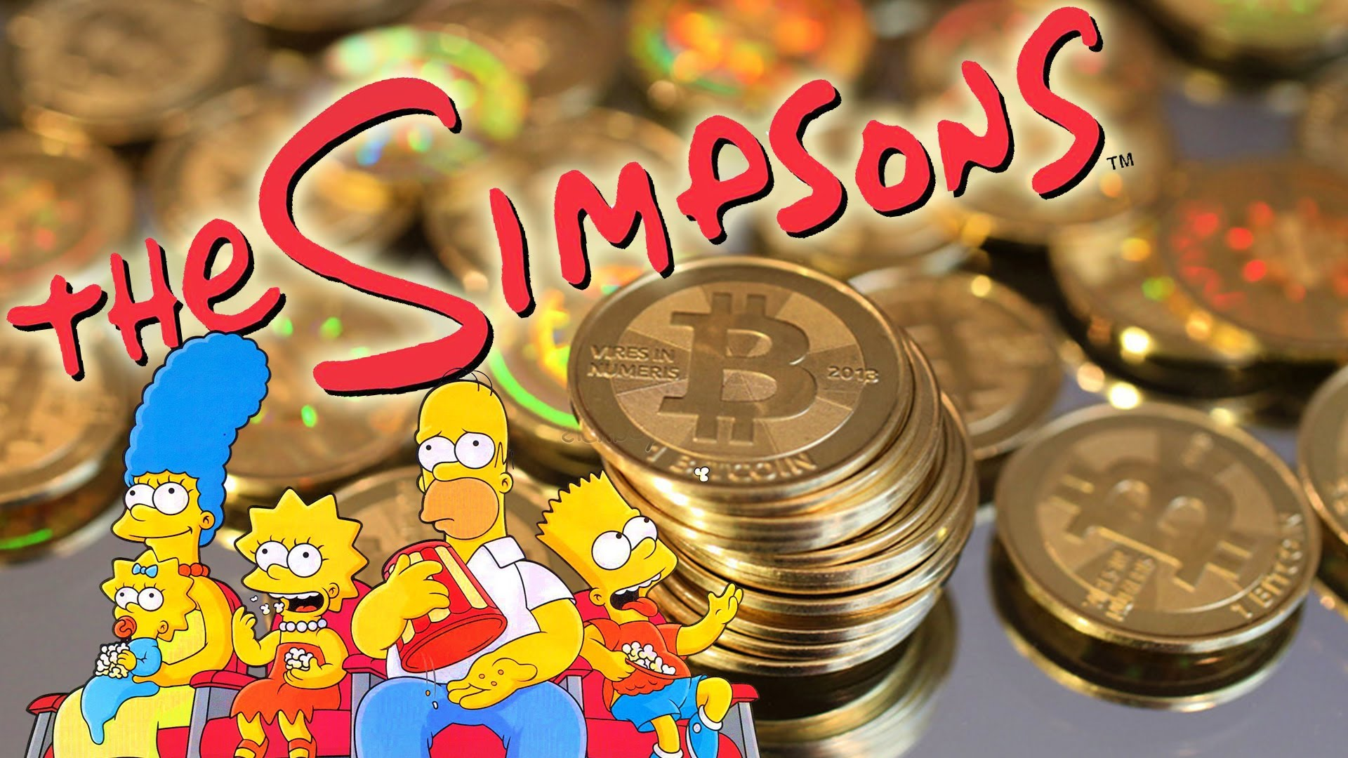 The Simpsons and Marvel's heroes use bitcoin