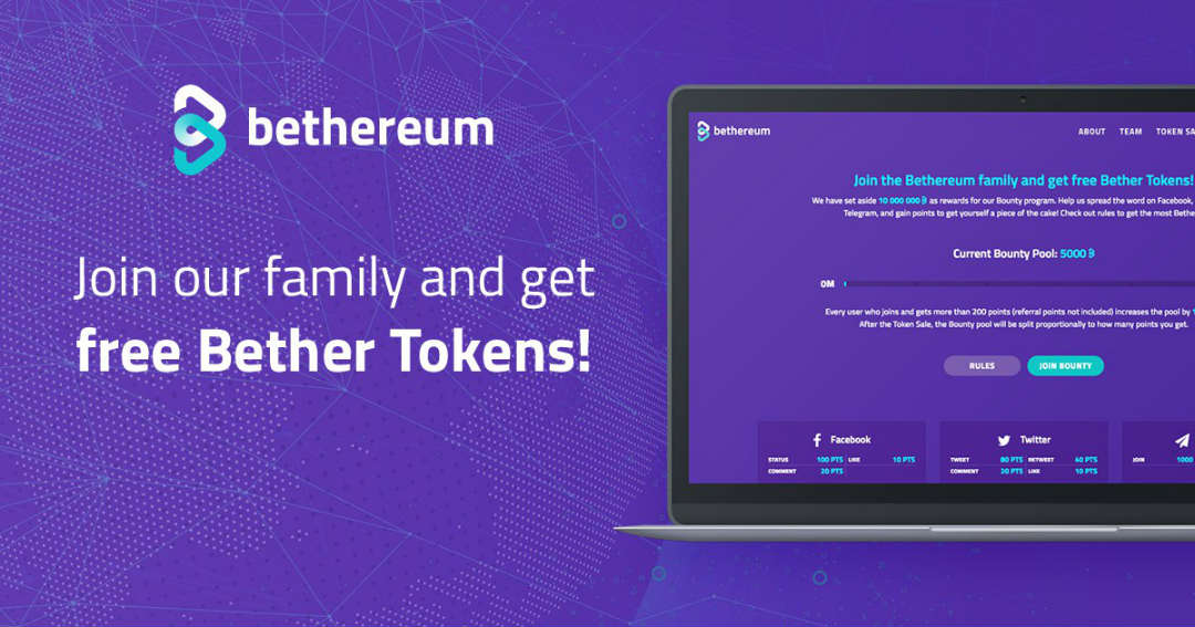With Bethereum transparency is regulated via smart contract