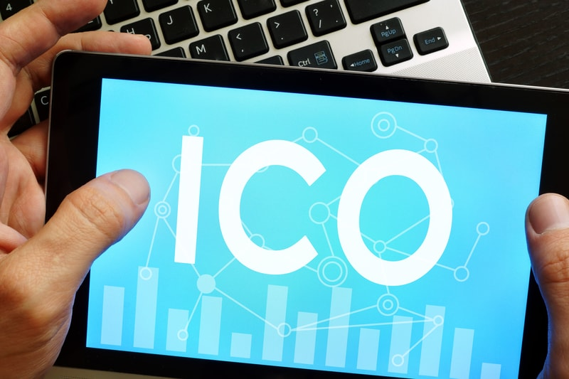 ICO tokens are sold for an average gain of 82%