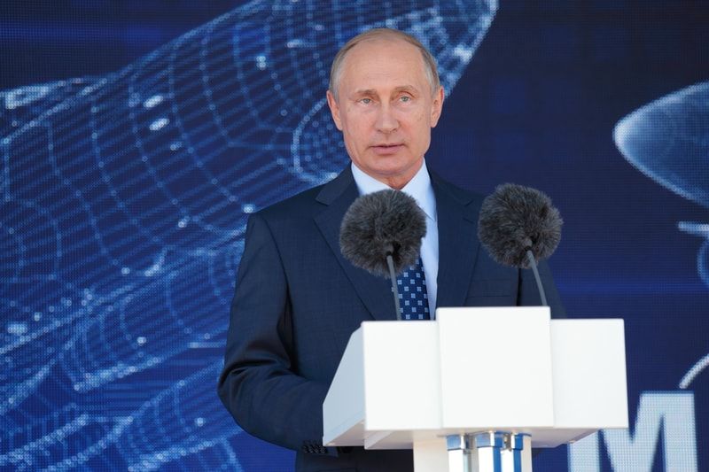 For Putin cryptos can't be used as state currency