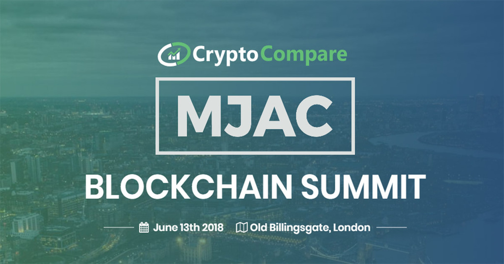 Latest details for the CryptoCompare & MJAC Blockchain Summit
