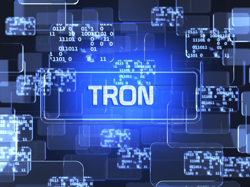 Big day today for Tron blockchain