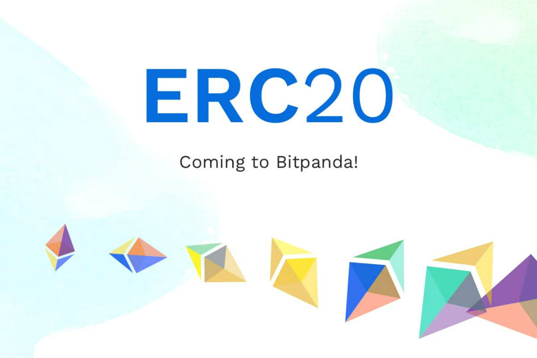 Bitpanda adds the ERC20 tokens