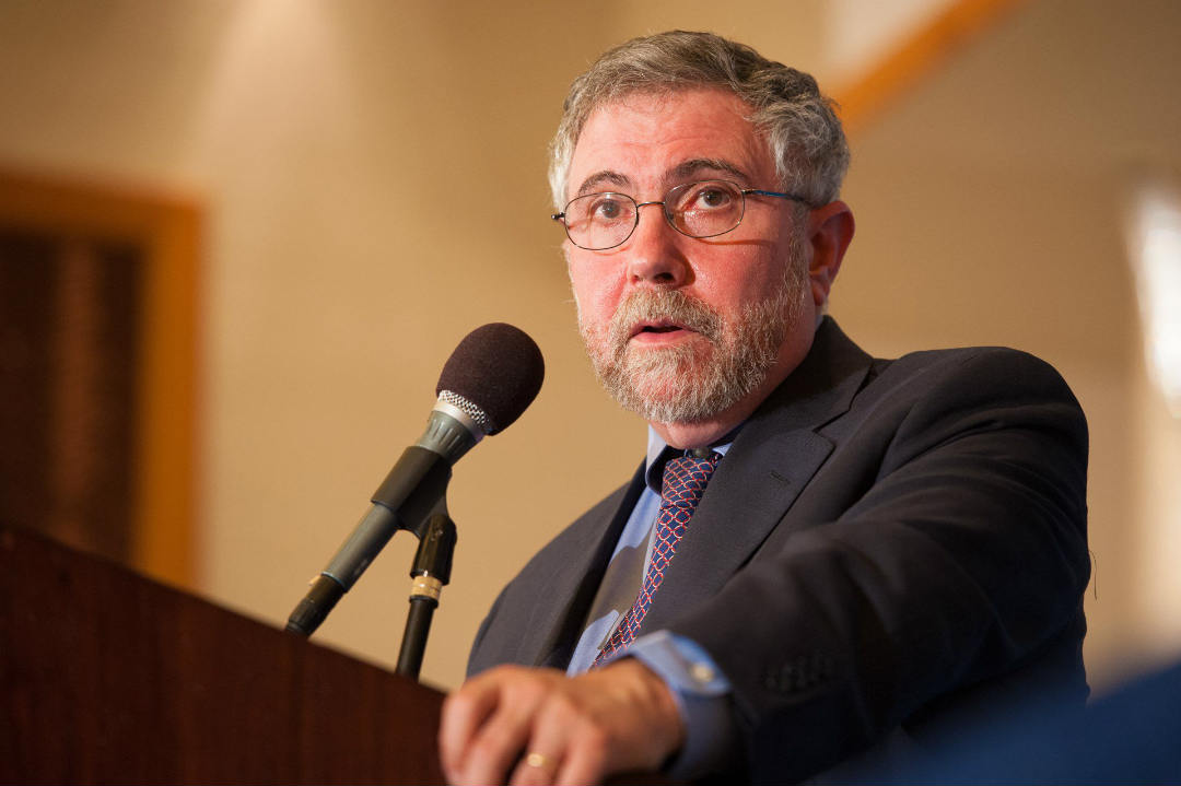 "According to Paul Krugman Bitcoin ""has more future than gold"""