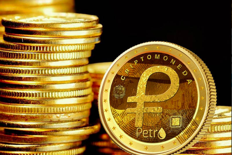 The Petro currency is there but it can't be seen. It looks like a big scam