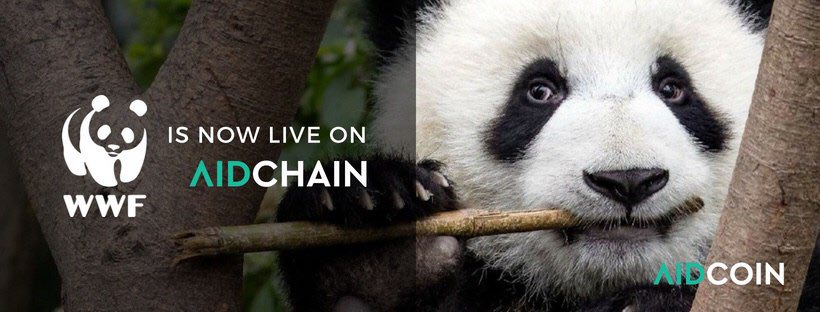 WWF Now Accepting Donations on the Blockchain thanks to AidCoin