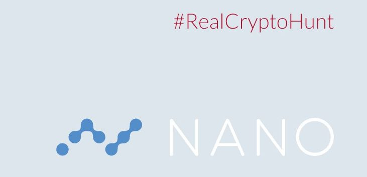 Crypto Hunt organised by Nano and LBX