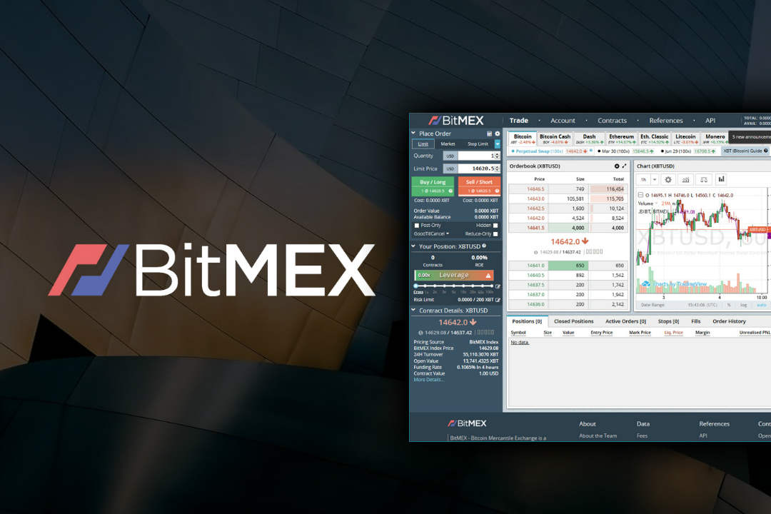 The new BitMEX office is on the 45th floor