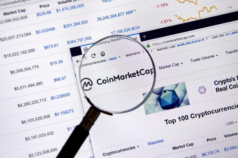Token record: 1800 listed on Coinmarketcap
