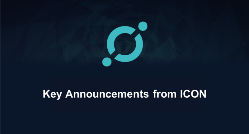 Key changes to ICON and ICX tokens