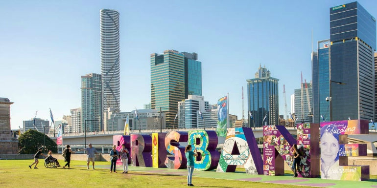Brisbane Queensland, Australian capital of the crypto world