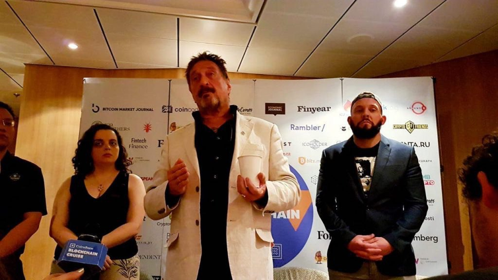 John McAfee, a partnership with exchange Coinbene against HitBTC