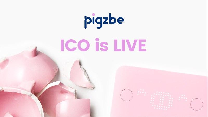 Pigzbe's ICO is live on Eidoo NOW