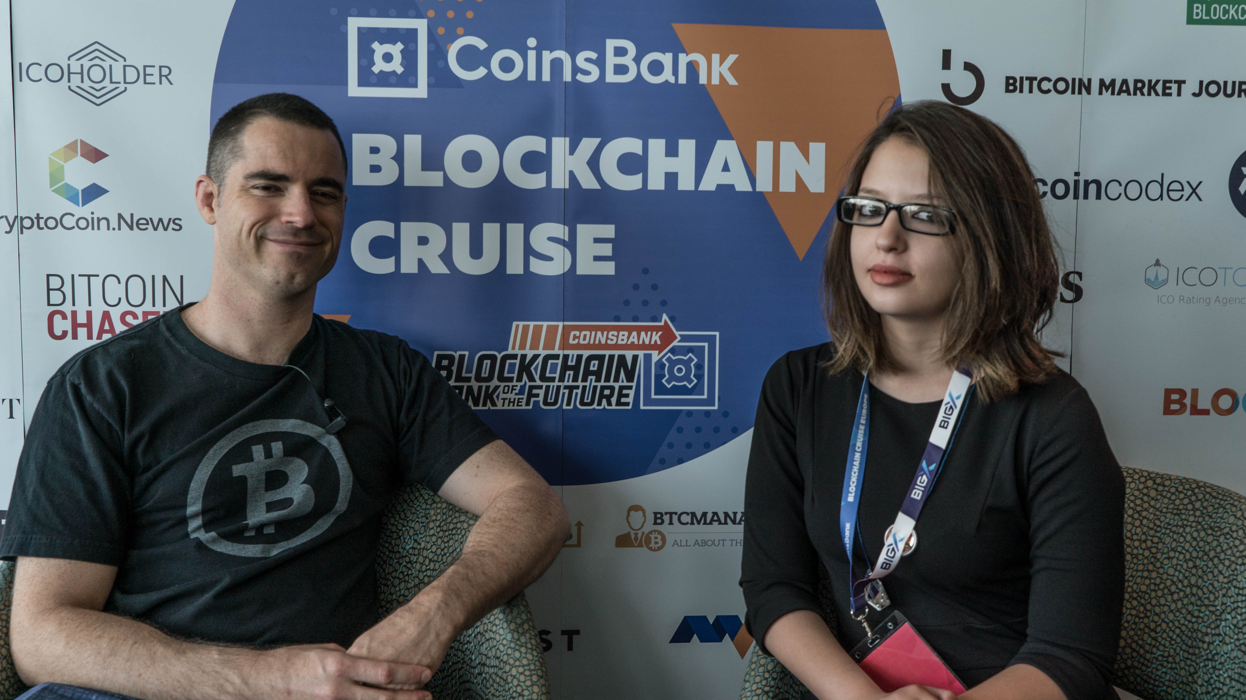 """Roger Ver interview, """"Coinbase is bringing cryptocurrencies to the general public"""""""