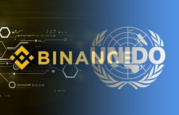 Binance Charity and the UN working together