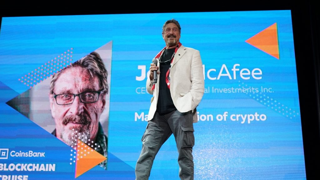Blockchain Cruise photos from the event with McAfee, Ver & Co