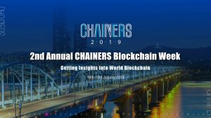 The CHAINERS Blockchain Week, a new event in Asia