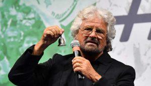 Beppe Grillo, blockchain and scientific research
