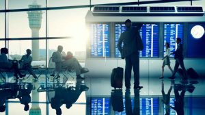 Airline and airport blockchain based applications