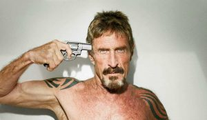 McAfee's adventurous life in a movie