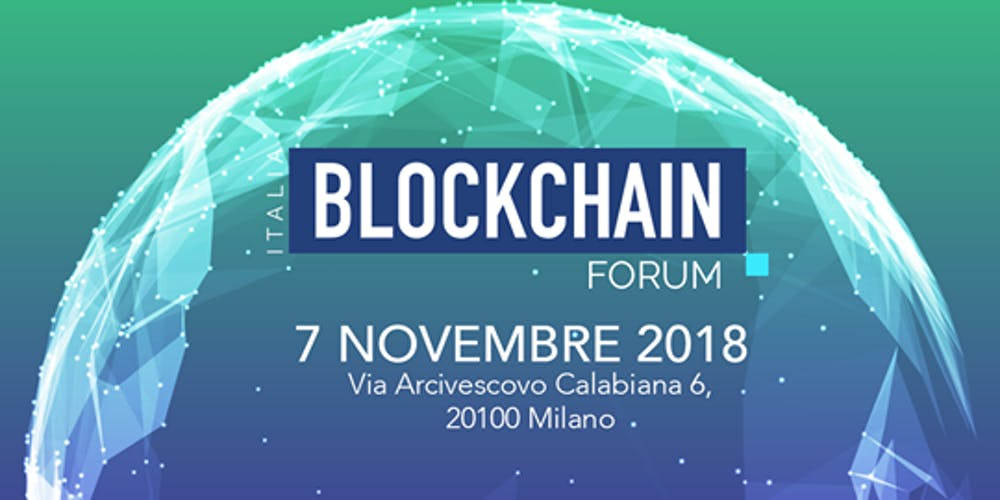 Blockchain Forum Italia, Milano to host a new event about fintech