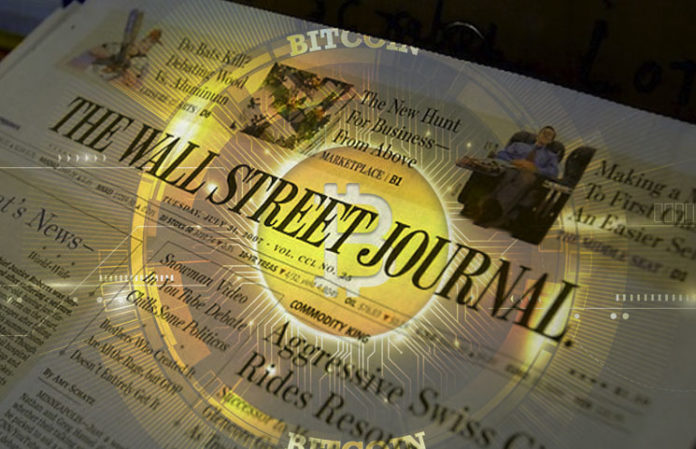 WSJCoin, the Wall Street Journal has its own crypto