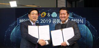 top korean enterprises blockchain