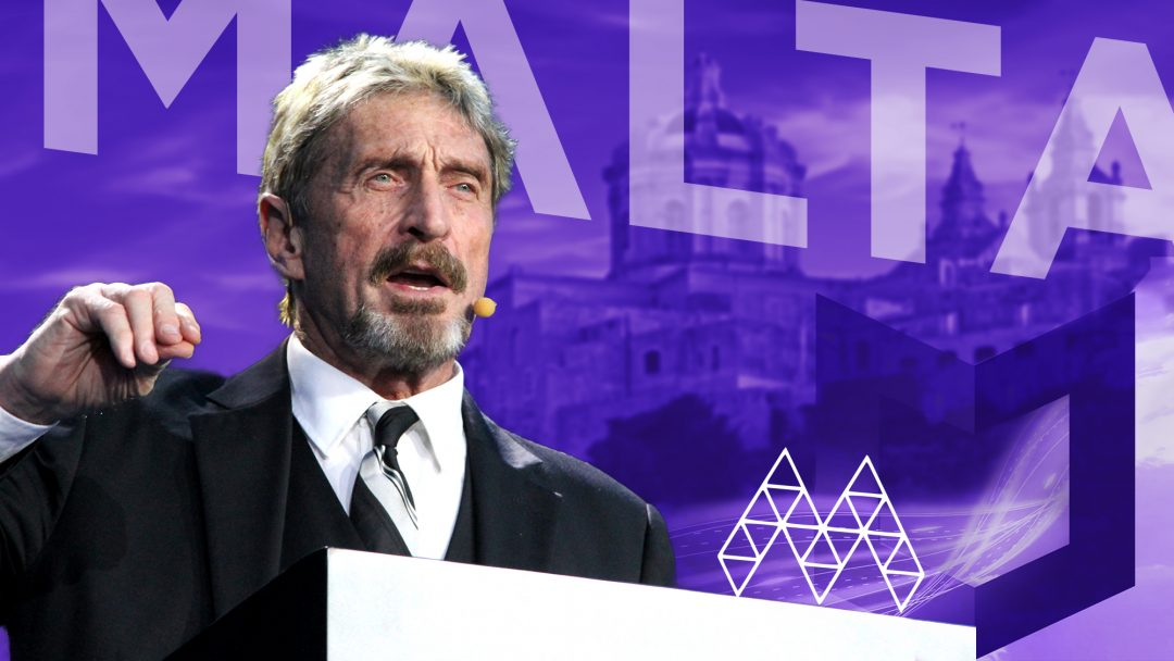 "John McAfee at the Malta Blockchain Summit: ""We need tokens to use, not just to keep in wallets"""