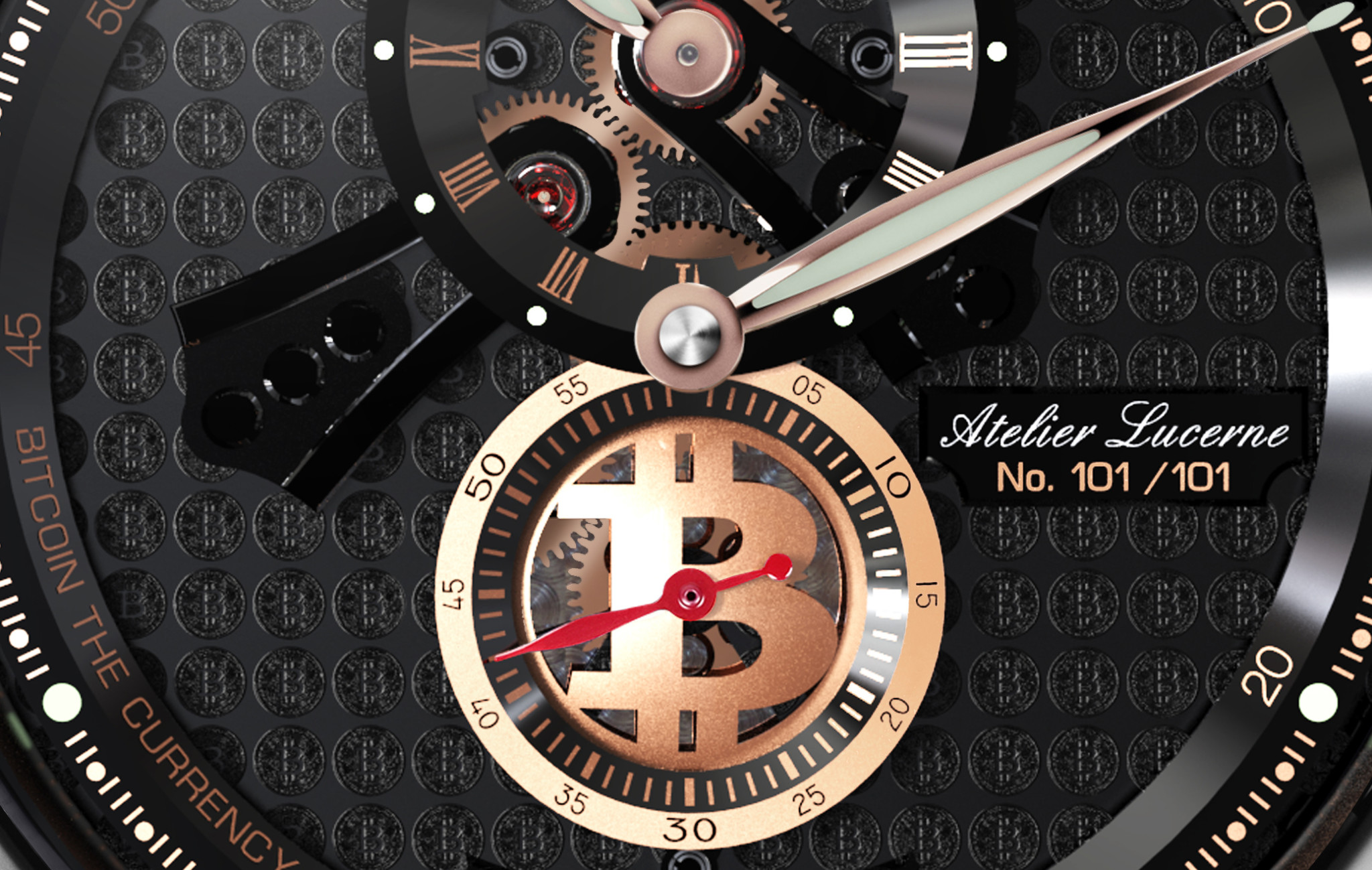 Chronoswiss: a collection of watches dedicated to the Blockchain