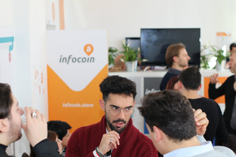 Bitcoin is no longer just virtual, InfoCoin of Rome is an example