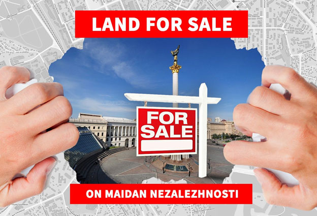 Satoshi Nakamoto Republic: virtual land for sale in Kiev