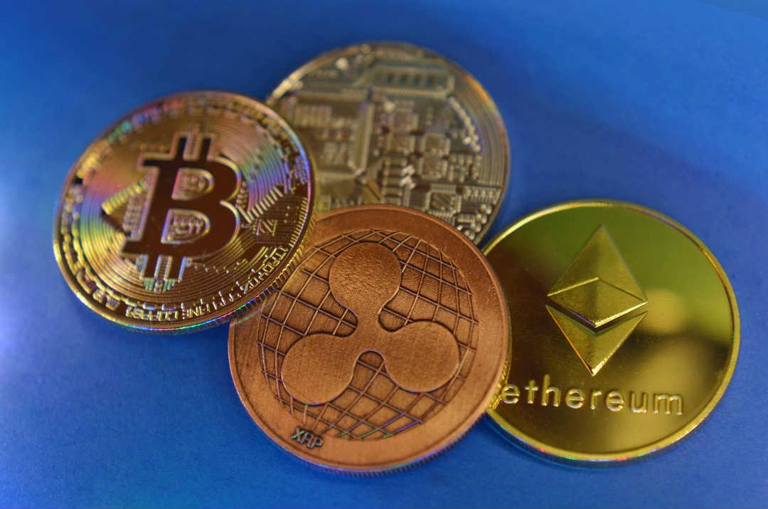 Ripple going down Bitcoin Cash negative