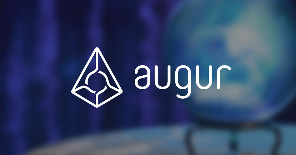 cryptocurrency augur price