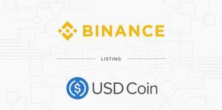 Binance lists USD Coin (USDC)
