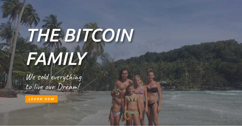 Didi Taihuttu, the family who bet it all on bitcoin