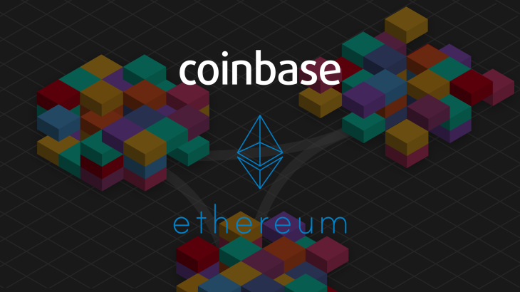 Possible Ethereum pump on Coinbase