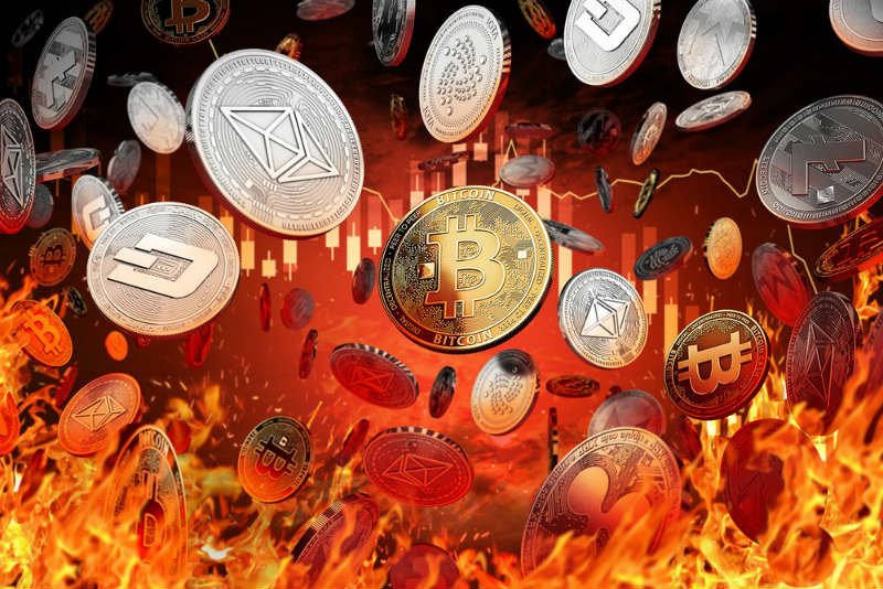 Prices of the main cryptocurrencies are in red once again
