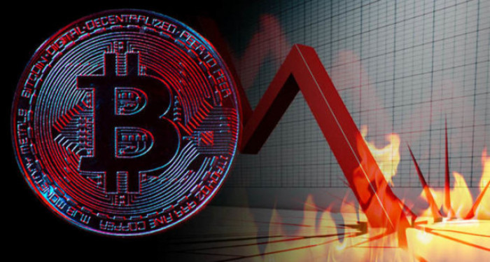 Why has the bitcoin price collapsed