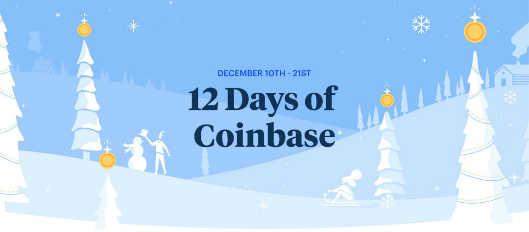 12 Days of Coinbase: the crypto advent has already begun